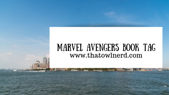 Marvel Avengers Book Tag